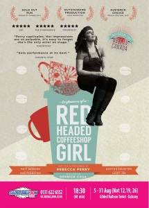 Confessions of a Redheaded Coffeeshop Girl Poster