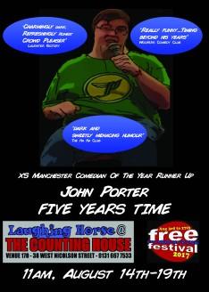 John Porter Five Years Time Poster
