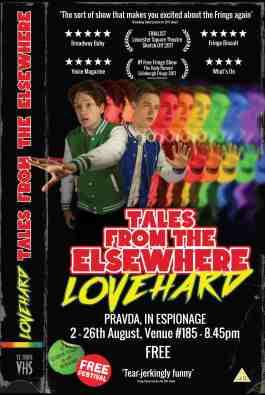 LoveHard Edinburgh poster 2018