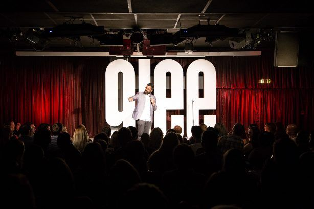 Main Stage of Glee Club, Glasgow.jpg