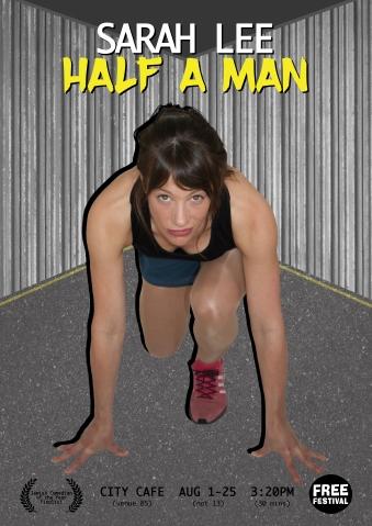 Sarah Lee - Half a Man - poster